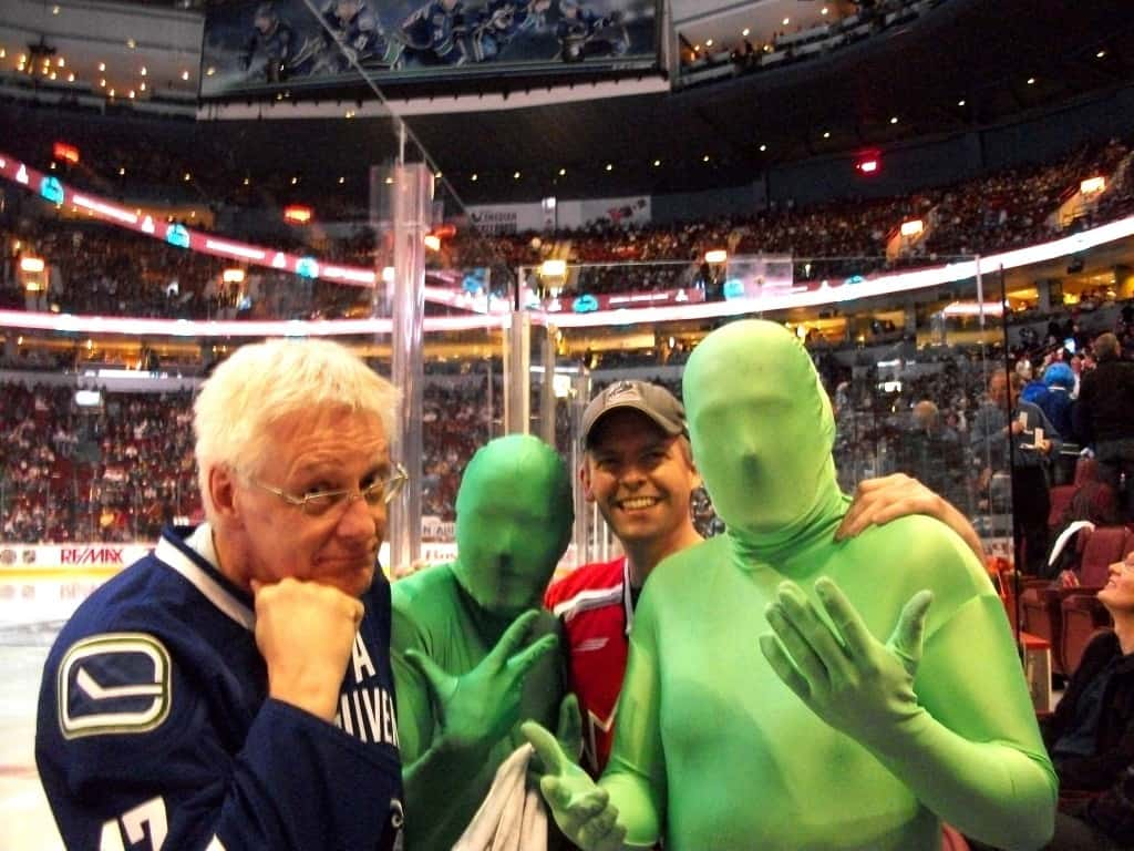 Green Men and a Couple of Seattle Chiropractors