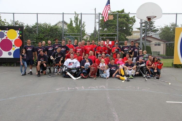 Seattle Street Hockey CanAm Game 2012